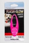 Брелок на ошейник светящийся Safety Light, S