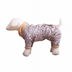 Комбинезон демисезонный на меху для собак р.25 (сука)