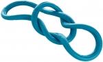 Игрушка для собак резиновая перетяжка 39 см синяя