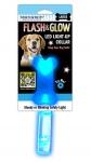 Ошейник светящийся Flash & Glow LED, M