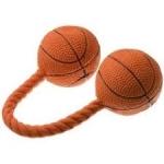 """Игрушка латекс """"Гантель баскетбольная"""" 16 см"""